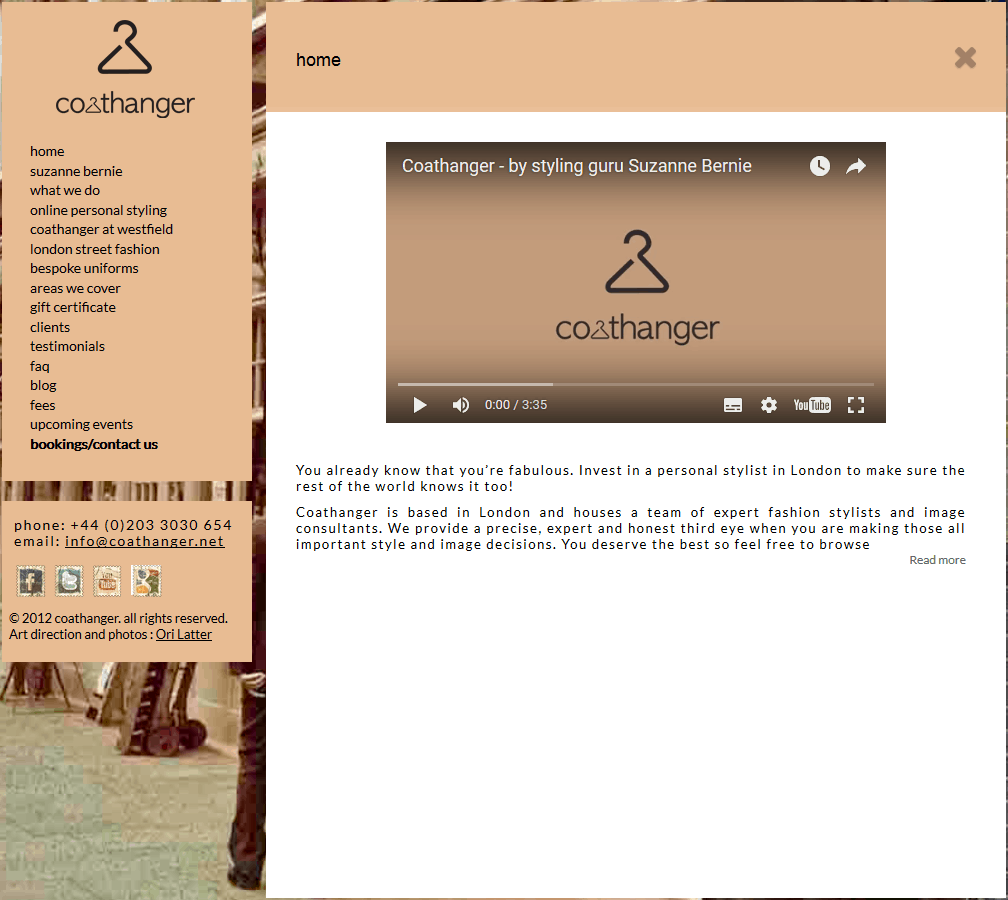 coathanger website