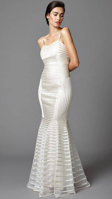 tapework wedding gown from phase eight