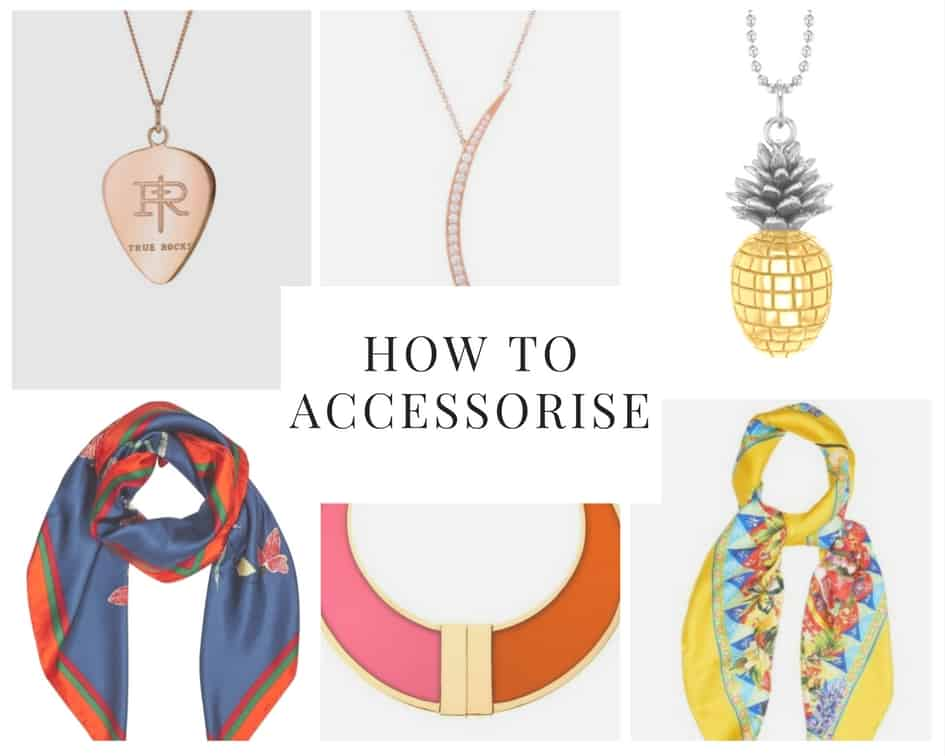 how to accessorise your outfits